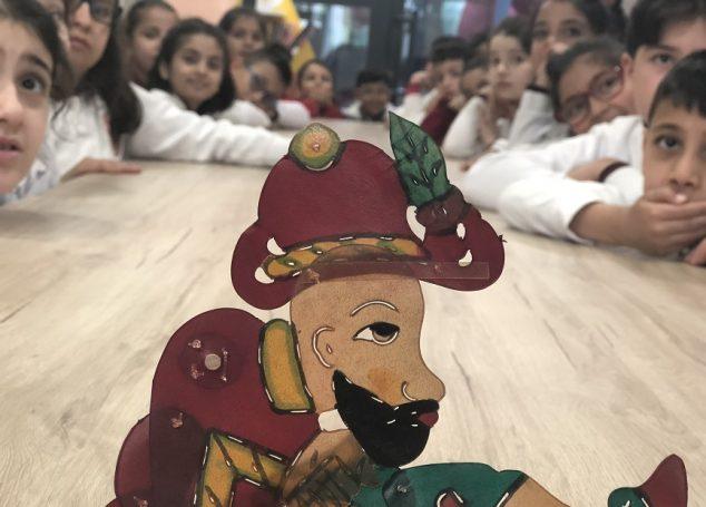 Çocuk Kütüphanelerinde Karagöz – Hacivat Gölge Oyunu Sahnelendi