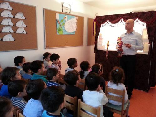 Okullarda Öğrencilerle Çalışmalarımız