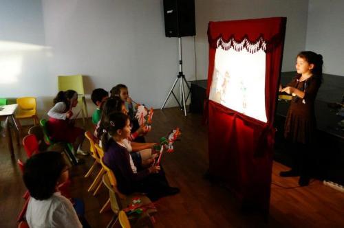 Neomarin Avm Karagöz Okulu Etkinliği