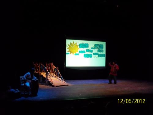 Gösteri Sanatları Merkezi Öğrencileri Deli Dumrul Oyunu.
